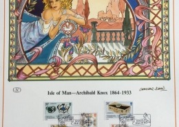 1989 FDI of Knox stamps