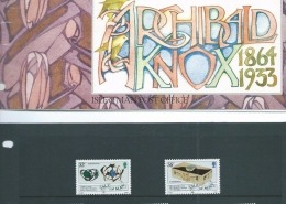 1989 presentation pack for Knox stamps