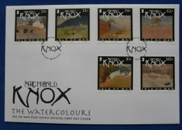 2009 FDC of Knox stamps - Watercolours