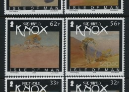 2009 sheet of Knox stamps - Watercolours