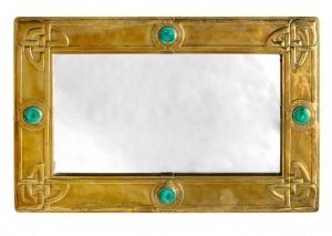Copper wall mirror 3