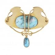 Gold brooch 2