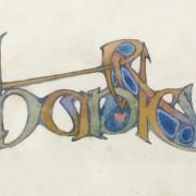 Illuminated lettering 11