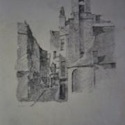 Knox sketch 1885 Old St Matthews Church