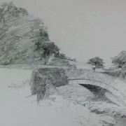 Knox stone bridge sketch