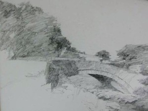 Knox stone bridge sketch