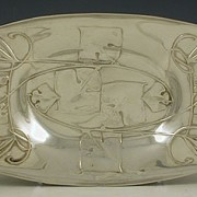Pewter tray model 0547