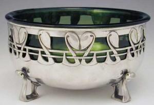 Pewter bowl 1