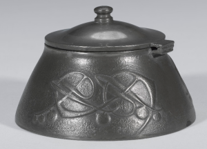 Pewter inkwell model 0653
