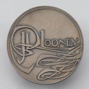 Pewter medal 1