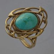 Gold ring 5