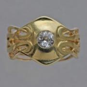 Gold ring model 4040