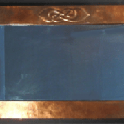 Copper wall mirror 1