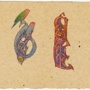 Illuminated lettering 1