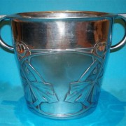 Pewter ice bucket 0705