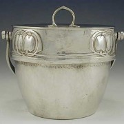 Pewter biscuit barrel 2