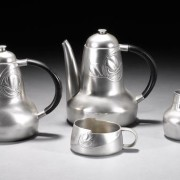 Pewter Coffee/Tea set 0375