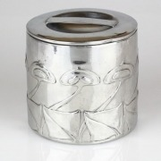 Pewter tobacco jar 0193