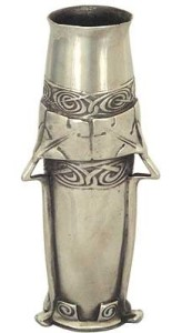 Pewter vase model 0791