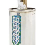 Silver bottle holder