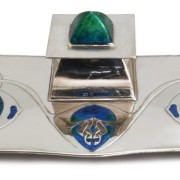 Silver inkwell 1