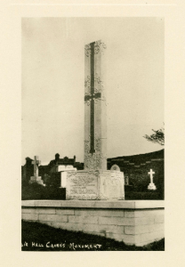 Hall caine Memorial in 1930s (2)