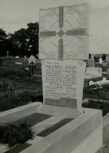 Knox Grave 1930s