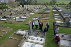 Panorama of Knox grave
