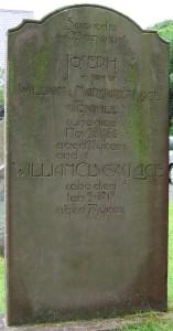 William Clucas Lace Marown cemetery
