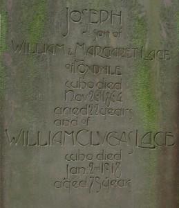 William Clucas Lace Marown cemetery - Copy