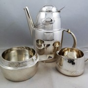 Silver coffe set