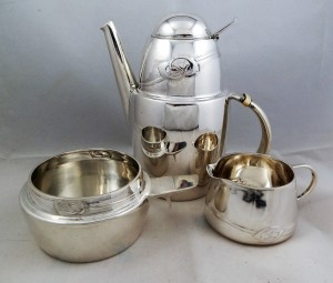 Silver coffe set