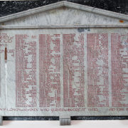 All Saints' Lonan war memorial for those who served