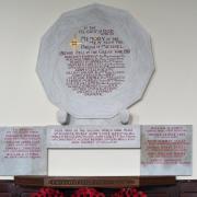 Michael Parish Memorial Plaque WWl